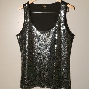 Chances R Sequined top